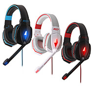 HIFI Gaming Wired Headphones  with In line Mic & Volume Control Ear Noise Cancelling Cute Earphones PS3 Gaming Headset