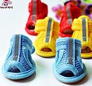 Socken & Schuhe für Hunde / Katzen Sommer Hochzeit / Cosplay XS / S / M / L / XL Baumwolle