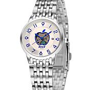 Womens Watches Lovers Watch Tungsten Steel Slim Quartz Waterproof Watch Gift