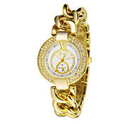 Diamond Rhinestone Bracelet Watches Luxury Fashion Casual Watches Women Rose Gold Plated Quartz Unique Watches