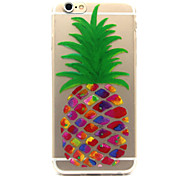 Painting Pineapple Pattern  TPU Cell Phone Soft Shell For iPhone 6