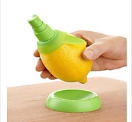 2pcs/Set Home Fruit Juice Lemon Lime Slicer Cutter Fruit Food Spray Tool Random Color