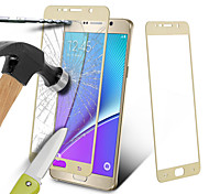 Silk Colorful Screen Protector Drop Proof Clear Ballistic Glass Tempered Glass For Samsung Galaxy Note5 N9200 5.7 Inch