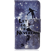 Let's Go Pattern PU Leather Wallet Design Full Body Case with Stand for iPod Touch 5/6