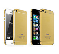 The Latest Tyrant Gold Brushed Metal Protective Film for iPhone 4/4S(Assorted Colors)