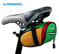 ROSWHEEL® Bike Bag 0.8LBike Saddle Bag Waterproof / Waterproof Zipper / Shockproof / Wearable Bicycle Bag 600D Polyester Cycle BagCamping