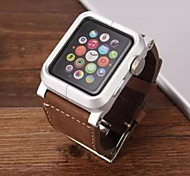38MM/42MM Classic Aluminum Buckle Bracelet Watch Band Silicone Wrist Strap Replacement for Apple Watch