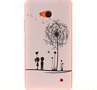Dandelion Pattern TPU + IMD Phone Case For Nokia N640