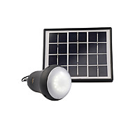PANDENG 200Lumens Super Bright Rubberized Matt Black Material Solar Power Bulb Mobile Phone Charging
