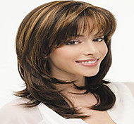 Fashion Mix Color Short Curly Woman's Synthetic Wigs Hair