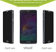 angibabe Privatsphäre Anti-Spy-Hartglas Displayschutzfolie für Samsung Galaxy Note 4 5,7-Zoll-
