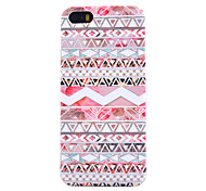 Pink Stripes Pattern Thin Transparent TPU Material Phone Case for iPhone 5C
