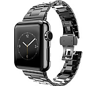 Stainless Steel Watch Strap For Apple Watch Band Adapter Metal Connector For iWatch 42mm with Strap Regulator Open Tool