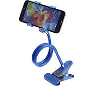 Universal 360 Degree Rotation Flexible Neck Clip Desk / Bedside Handsfree Holder for Phone (Assorted Colors)