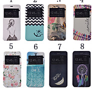 iPhone 7 Plus 5.5 Inch Print Pattern High Quality PU Leather Case with Stand for iPhone 6S Plus
