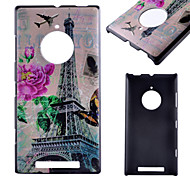 Transmission Tower Pattern PC Material Phone Case for Nokia  Lumia 435