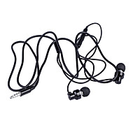 jack 3,5 milímetros fio do fone de ouvido bty de ouvido com microfone. para iPhone / iPad / samsung e mais