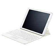 caso del tirón del cuero del faux con teclado bluetooth para Samsung Galaxy Tab 9.7 s2