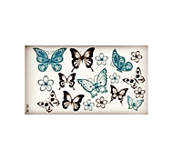 (1pcs)HC03-Colorful Butterfly New Design Fashion Temporary Tattoo Stickers Temporary Body Art Waterproof Tattoo Pattern