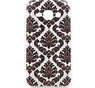 Diamond Pattern TPU Material Transparent Soft Cell Phone Case for Samsung Galaxy J1/J5