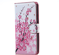 Plum Magnetic Pattern Leather Wallet Flip Stand Cover Case For  Motorola MOTO G3 G 3nd Gen XT1552