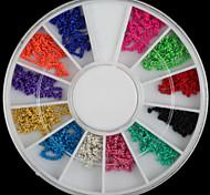 Beautiful Mixed-color Metal Chain Diy Nail Art Decorations