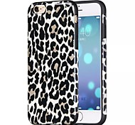 2015 Newest Hoco R Rear Cover Leopard Fashion Silica gel Mobile Phone Shell for iphone 6 4.7
