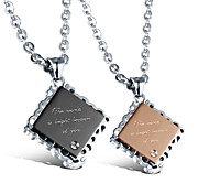 Precision Steel Rose Gold Necklace