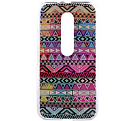 Tribal Symbols Pattern PC Hard Back Cover Case for Motorola MOTO G3 3rd Gen