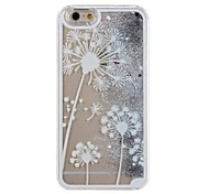 White Sand Dandelion Mobile phone Case for iphone5C