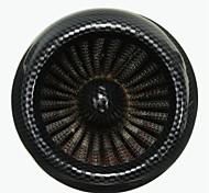 Limpador do filtro de ar 48 milímetros de carbono para 200cc pit sujeira moto moto scooter