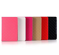 7.9 Inch Grid Pattern Luxurious High Quality PU Leather Case for iPad Mini 4(Assorted Colors)