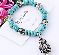 Women Vintage Accessories Owl Bracelet Bangle Jewelry Gift