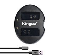 KingMa® Dual Slot USB Battery Charger for Canon LP-E10 Battery for Canon Rebel T3 T5 EOS 1100D 1200D KISS X50 Camera