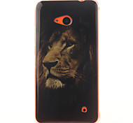 The Lion Design TPU + IMD Phone Case For Nokia N640