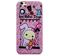 Sentimental Circus Pink TPU Soft Back Cover for iPhone 6