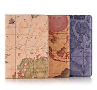 7.9 Inch Map Pattern High Quality PU Leather Case for iPad Mini 4(Assorted Colors)