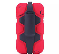 Multifunctional Protecting Jacket mixed Robot Rugged Heavy TPU + PC For iPhone 6(Assorted Color)