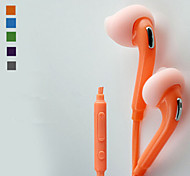 In-Ear Headphones Headset Earphones for Samsung and Other Cellphone (Assorted Colors)