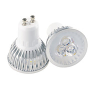 HRY® 3W GU10/GU5.3/E27 3LEDS 350LM Light Lamp LED Spot Lights(90-260V)