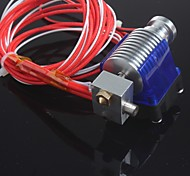 E3D V6 Short Distance J-head Hotend for 1.75/0.4mm Nozzle E3D Wade Extruder with Cooling fan for RepRap 3D Printer