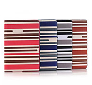 7.9 Inch Stripe Pattern High Quality PU Leather Case for iPad Mini 4(Assorted Colors)