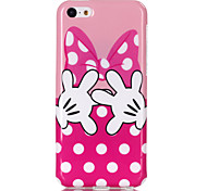 Finger  Pattern TPU Soft Case for iPhone 5C