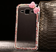 DIY PInk Bowknot Pattern PC Hard Case for Multiple Samsung Galaxy A3/A5/A7/A8