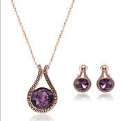 European And American Retro Jewelry Set