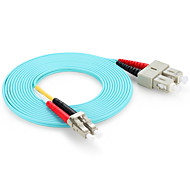 shengwei® 10 concerto lc / UPC-SC / UPC OM3 multimodale dual core fibra ottica ponticello 3m / 5m / 10m