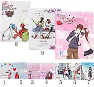 Cartoon Umbrella PU Leather Case Cover for iPad 2/3/4(Assorted Colors)