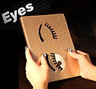 charmanten großen Augen pu Case Schutzhülle mit Ständer für iPad Mini 1/2 Mini / Mini 3 (verschiedene Farben)
