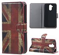 für Acer Liquid Z410 decken uk Flagge Muster Leder Brieftasche Flip Standplatzfall für Acer Liquid Z410 Handytaschen