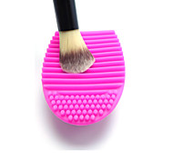 Silicone Handy Makeup Brushes Cleaning Tool Brush Egg